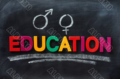 Sex education concept
