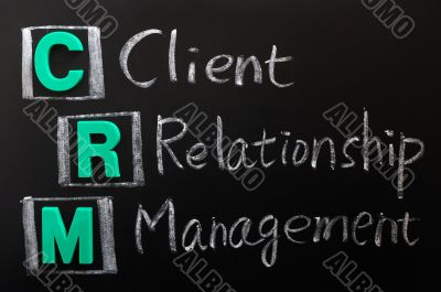 Acronym of CRM - Client Relationship Management
