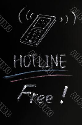 Free hotline service
