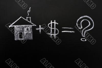 Home plus money means a big question