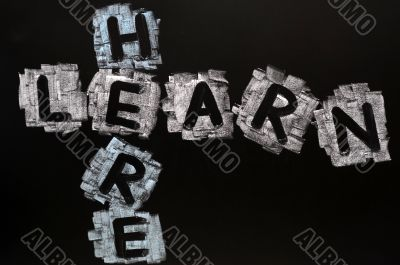 Crossword of Learn Here
