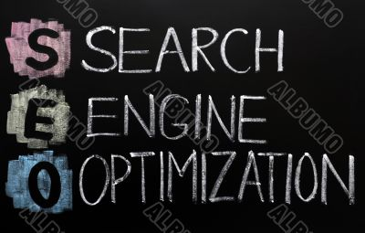 SEO acronym - Search engine optimization