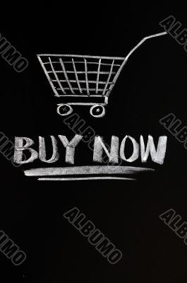 Buy Now concept