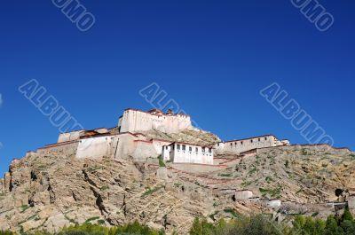Ancient Tibetan castle