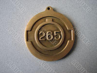 Anniversary medal. Ural region