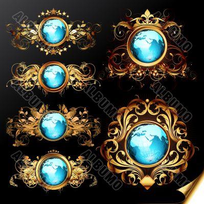 world frames set
