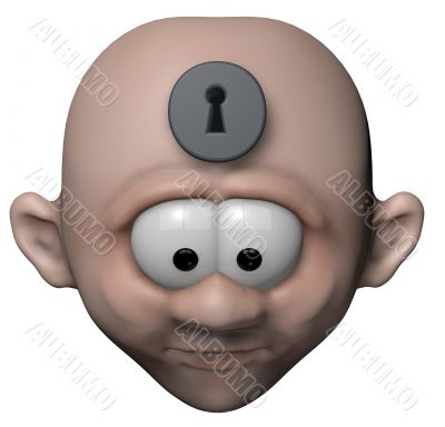mind locked up