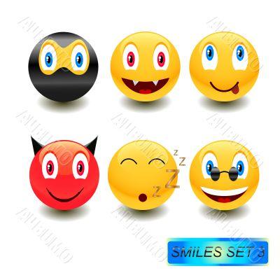 Smiles set 3