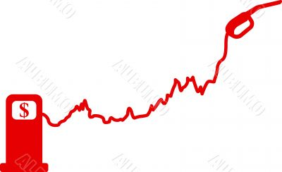 Gasoline price rise