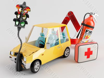 Car and Emergency Kit