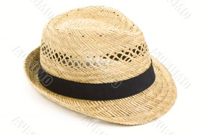 Straw hat, isolated