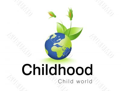 logo design for childhood corporative