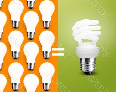 saving Light bulb