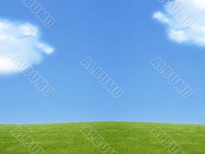 landscape of Green land