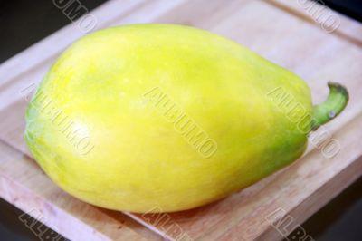 A Yellow Papaya