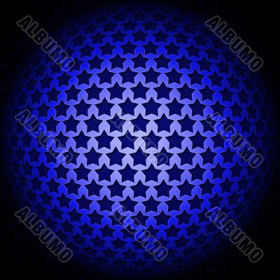 A brilliant ball of stars