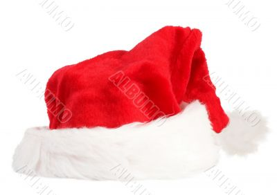 Red and white Santa Clause hat