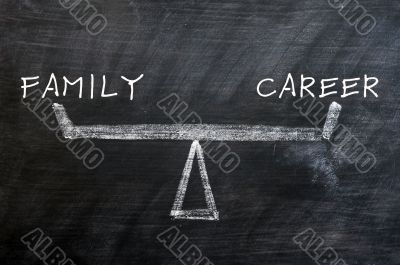 Balance of family and career