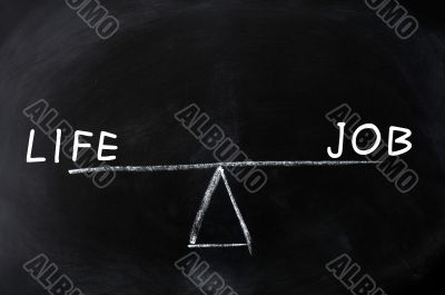 Balance of life and job