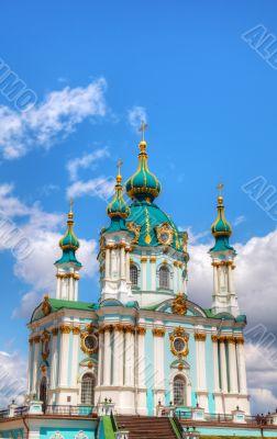 St. Andrew church in Kiev, Ukraine