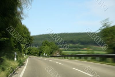 road in summer
