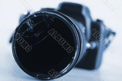 Camera - Damaged Lens - Technology