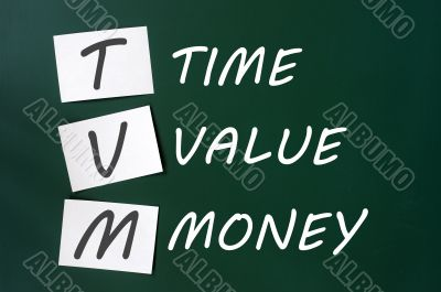 TVM acronym for time, value and money