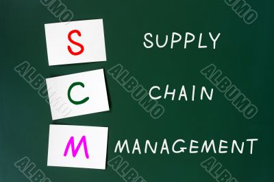 Acronym of SCM for supply chain management