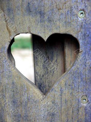 Heart in the board