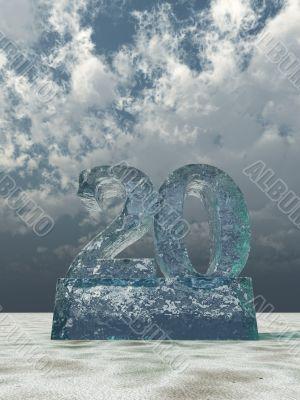 frozen number twenty