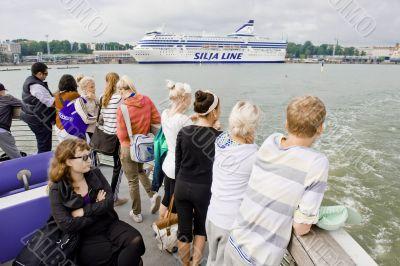 Tourist boat trip