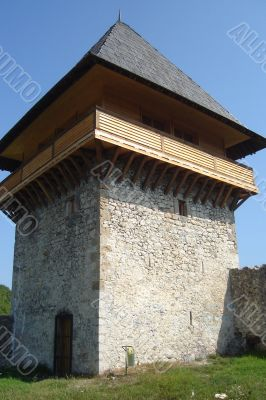 Old Ottoman tower