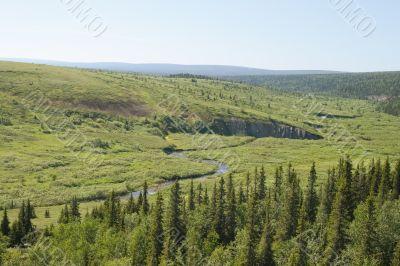 Green northern valley