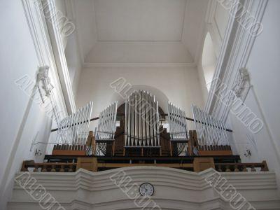 Organ in Catholic church