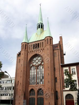 St Elizabeth Church-Berlin-Schoeneberg