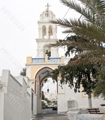 Belltower with the gate