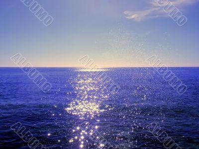 Mediterranean sea spray