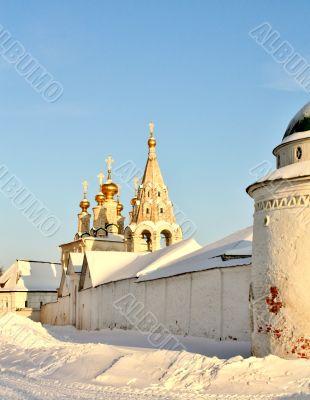 Ryazan Kremlin towers