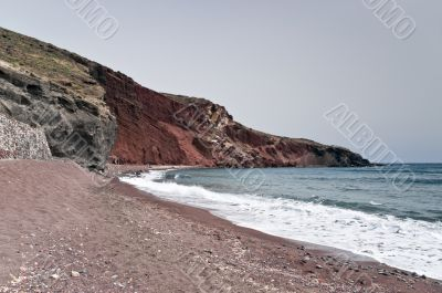 Red beach out of season