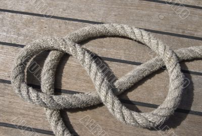 Ropes on a deck