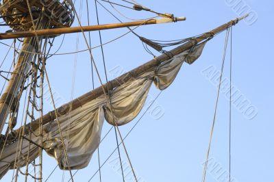 Mast of a tall ship