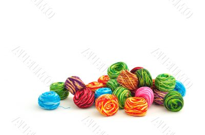 balls of thread