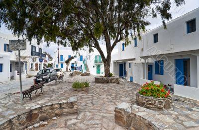 In Mykonos town