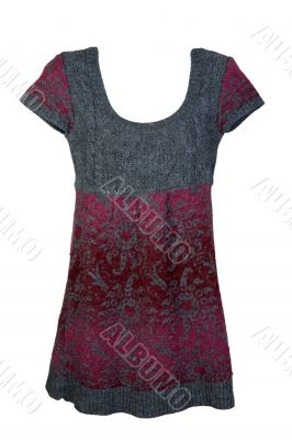 knitted woman`s dress