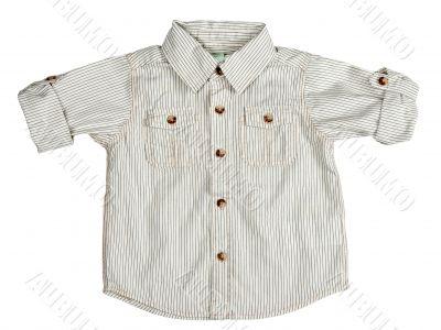 Children`s beige shirt