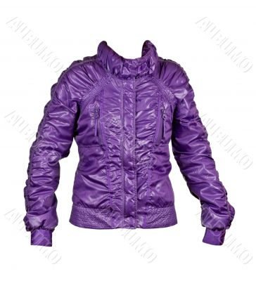 purple ladies fashion jacket