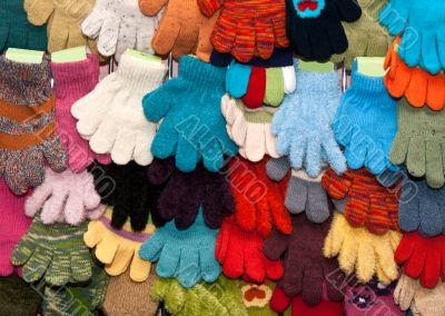 showcase children`s mittens and gloves