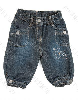 Children`s pants jeans