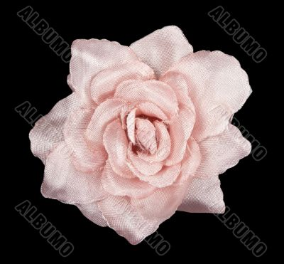 pink flower fabric with