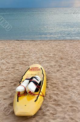 yellow canoe rescue